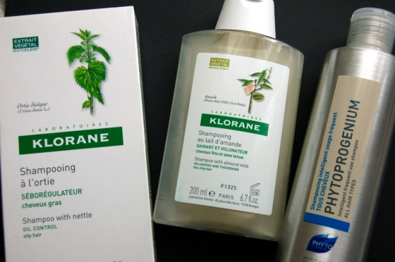 Šampūni - Phyto, Klorane